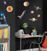 Pokój dziecka, naklejki kosmos