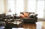 salon w nowym mieszkaniu